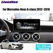 Liandlee-lecteur multimédia voiture   Pour Mercedes Benz MB classe A W176 2012 ~ 2018, adaptateur CarPlay, autoradio GPS, Navigation WIFI