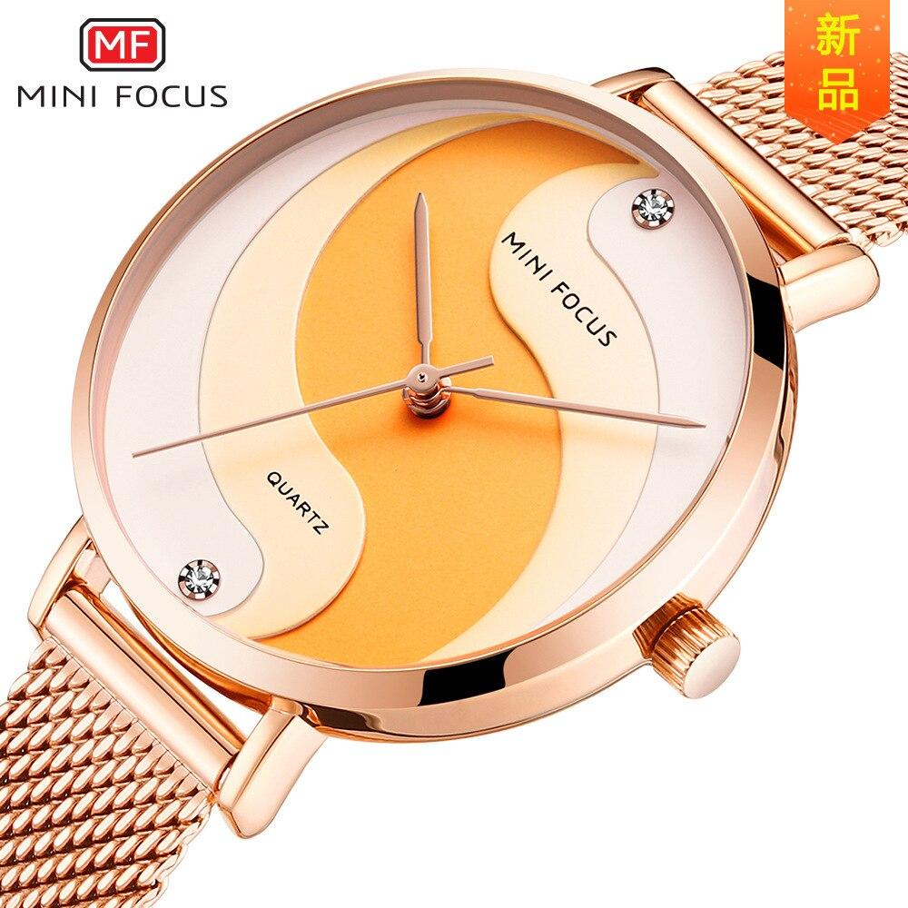 ساعات يد Lism السيدات عالية الجودة ساعة نسائية كريستال مصمم فاخر ثنائي عرض hanah مارتن شاشة عرض Led رقمية Pu