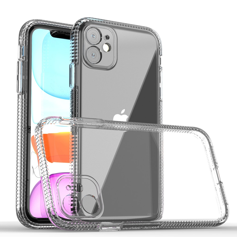HD Clear Case For iPhone 11 TPU Back Cover With Air-Bag Anit-Shock&Fall&Dust&Scratch Full Protection