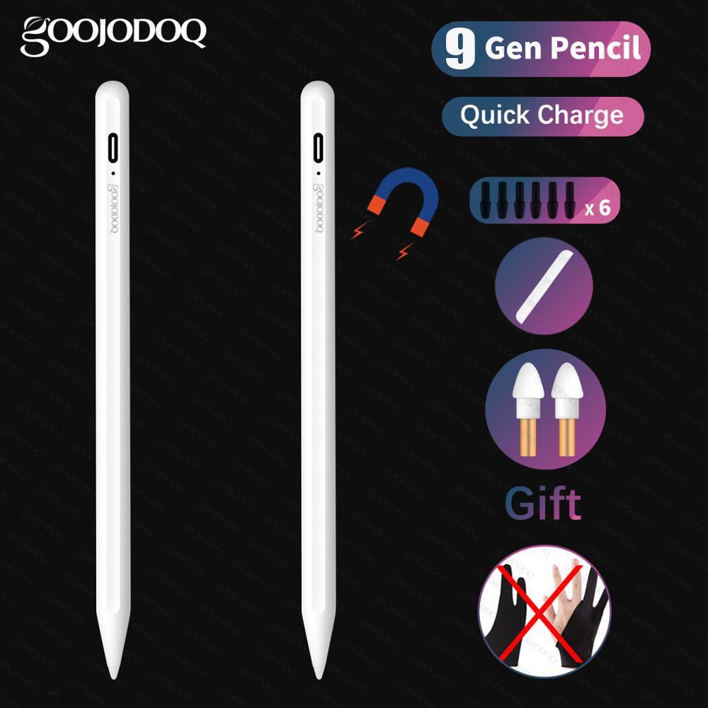 Für iPad Bleistift Apple Stift Stylus für iPad 9,7 2018 Pro 11 12,9 2018 Air 3 10,5 2019 10,2 Mini 5 Touch Stift für Apple Bleistift 2 1