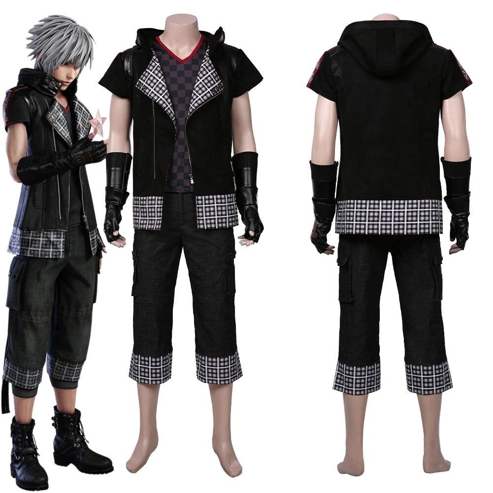 Kingdom Hearts III -yozora Cosplay Costume Men Coat Outffits Halloween Carnival Suit
