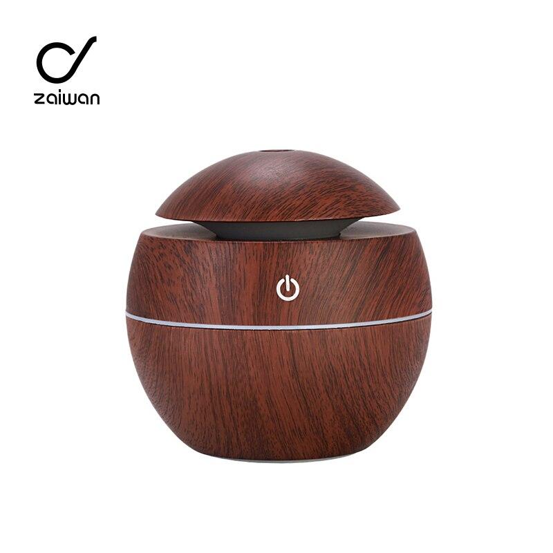 Электрический увлажнитель воздуха с таймером, увлажнитель воздуха, аромадиффузор, ультразвуковой увлажнитель воздуха с текстурой древеси...