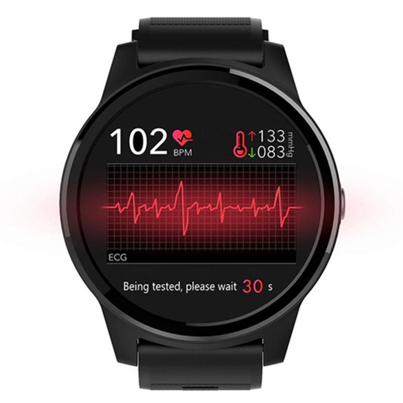 Promo Heart rate blood pressure ECG smart health watch multifunctional sports smartwatch waterproof bluetooth wristband run bracelet