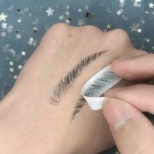 O.TWO.O 4D Hair Like Eyebrows Makeup Waterproof Eyebrow Tattoo Sticker Long Lasting Natural Fake Eye