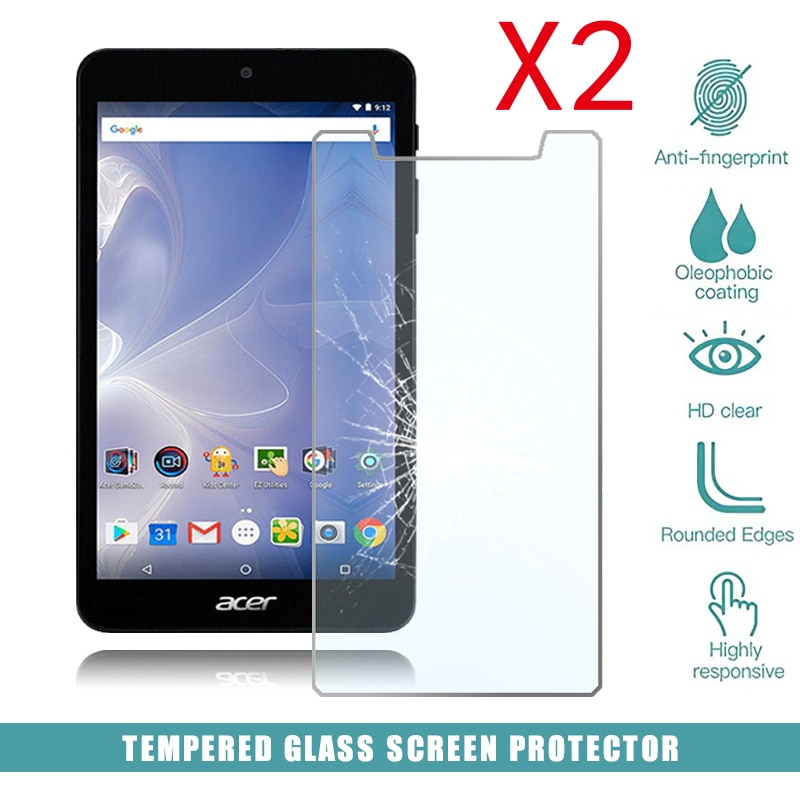 2pcs tablet tempered glass screen protector cover for acer iconia one 10 b3 a50fhd anti screen breakage tempered film 2Pcs Tablet Tempered Glass Screen Protector Cover for Acer Iconia One 7 B1-780 Tablet Computer Tempered Film Screen