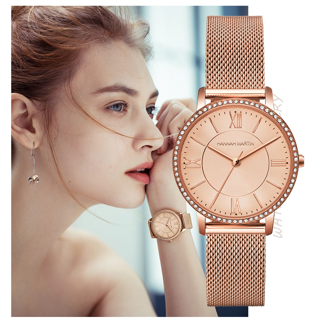 Women watches diamond Japanese quartz Rhinestone Wrist Watches Luxury Casual Female dress Watches Relogio Feminino Drop Shipping enlarge
