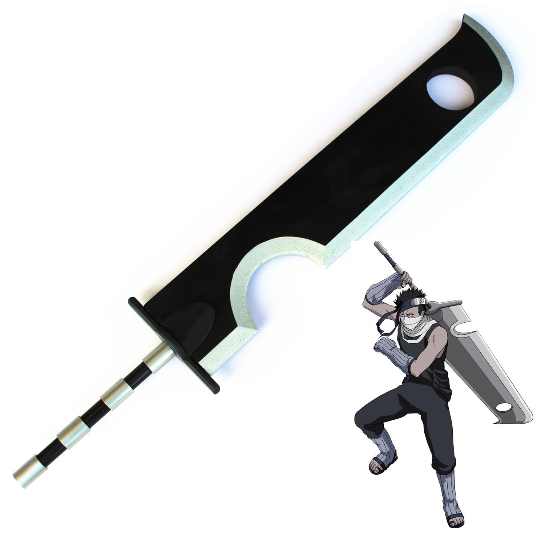 Momochi Zabuza Kubikiribōchō Dantō Anime Cosplay accesorios de disfraz de espada ancha