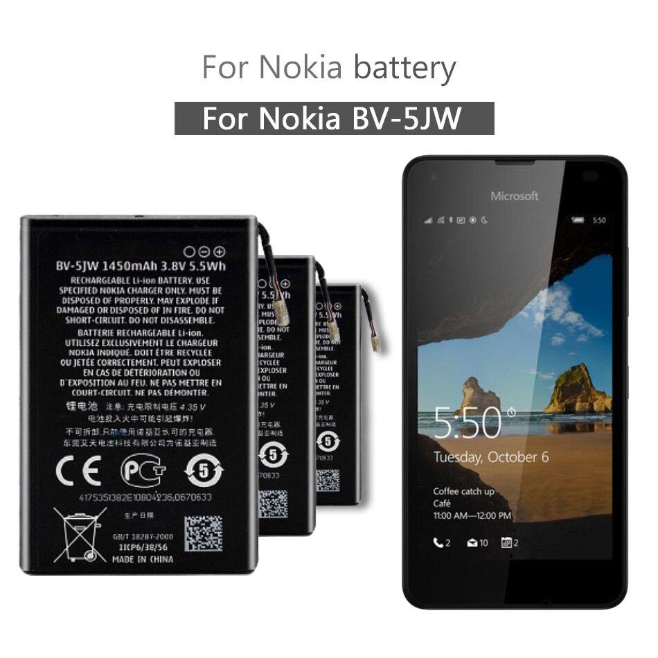 BV-5JW batería de teléfono para Nokia Lumia 800 800C N9 N9-00 BV5JW 1450mAh herramienta gratuita