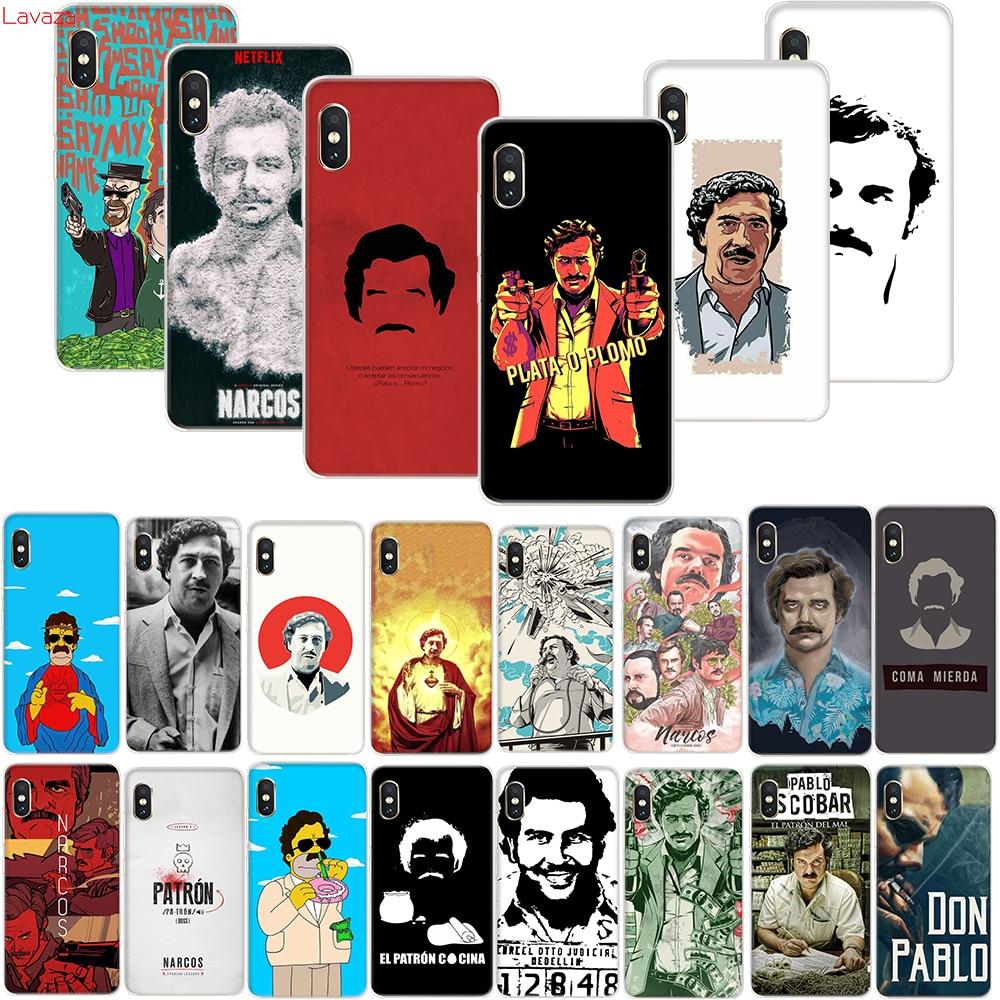 Funda dura para teléfono de la serie de TV de Narcos para Xiaomi mi 9T A3 Pro para Red mi 7A K20 nota 8 Pro