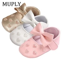 baby pu leather baby boy girl baby moccasins moccs shoes bow fringe soft soled non slip footwear crib shoes