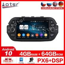 DSP Android 10 lecteur DVD de voiture de base Navigation GPS pour FIAT TIPO EGEA 2016 + lecteur multimédia GPS stéréo unité principale Auto stéréo