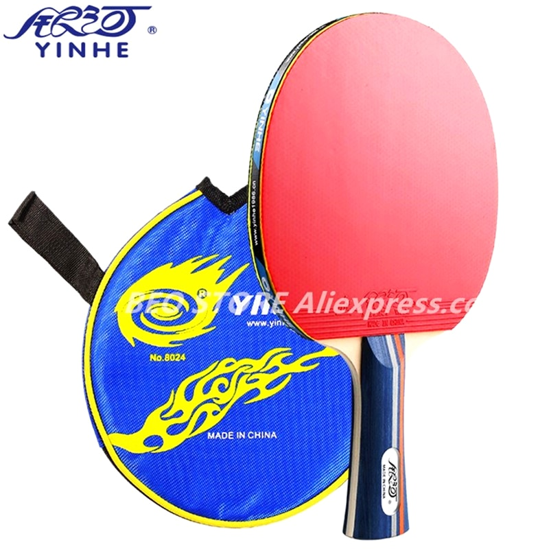 Ракетки Yinhe 01b, резиновые тренировочные ракетки для настольного тенниса Galaxy, ракетки для пинг-понга, летучая мышь