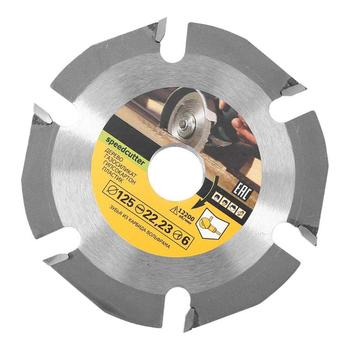 125mm 6T Circular Saw Blade Grinder Wheel Carbide Tipped Wood Cutting Disc Carving Blades