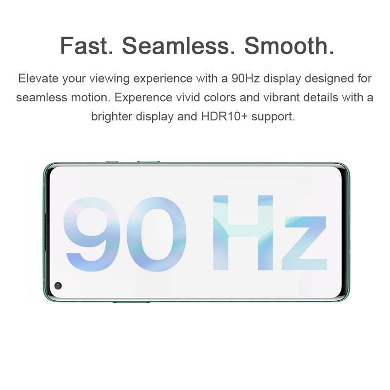 Фото4 - Глобальная версия OnePlus 8 5G смартфон 8 ГБ 128 Snapdragon 865 6,55 ''90 Гц жидкости Дисплей 48MP тройной OnePlus официального магазина Carter's NFC; код:P3XCNVAQ(₽2000-200)