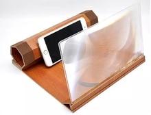 Pantalla de teléfono móvil de 12 pulgadas, lupa de pantalla 3X para teléfono inteligente, esencial para la entrada