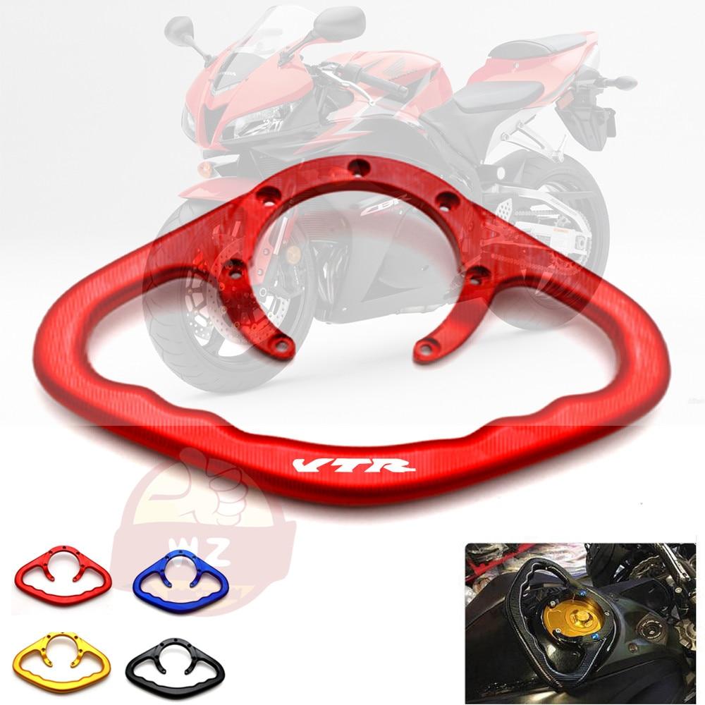 Para Honda VTR1000F / FIRESTORM VTR 1000 F 1998-2005 agarradero de pasajero para motocicleta mano tanque barra maneja reposabrazos