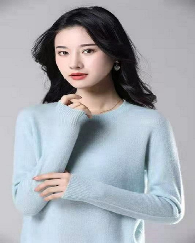 Sanofi Cashmere Sweater Women 2020 Autumn Winter Warm Soft O-Neck Long Sleeve Knitted Pullover Jumper Female Sweater enlarge