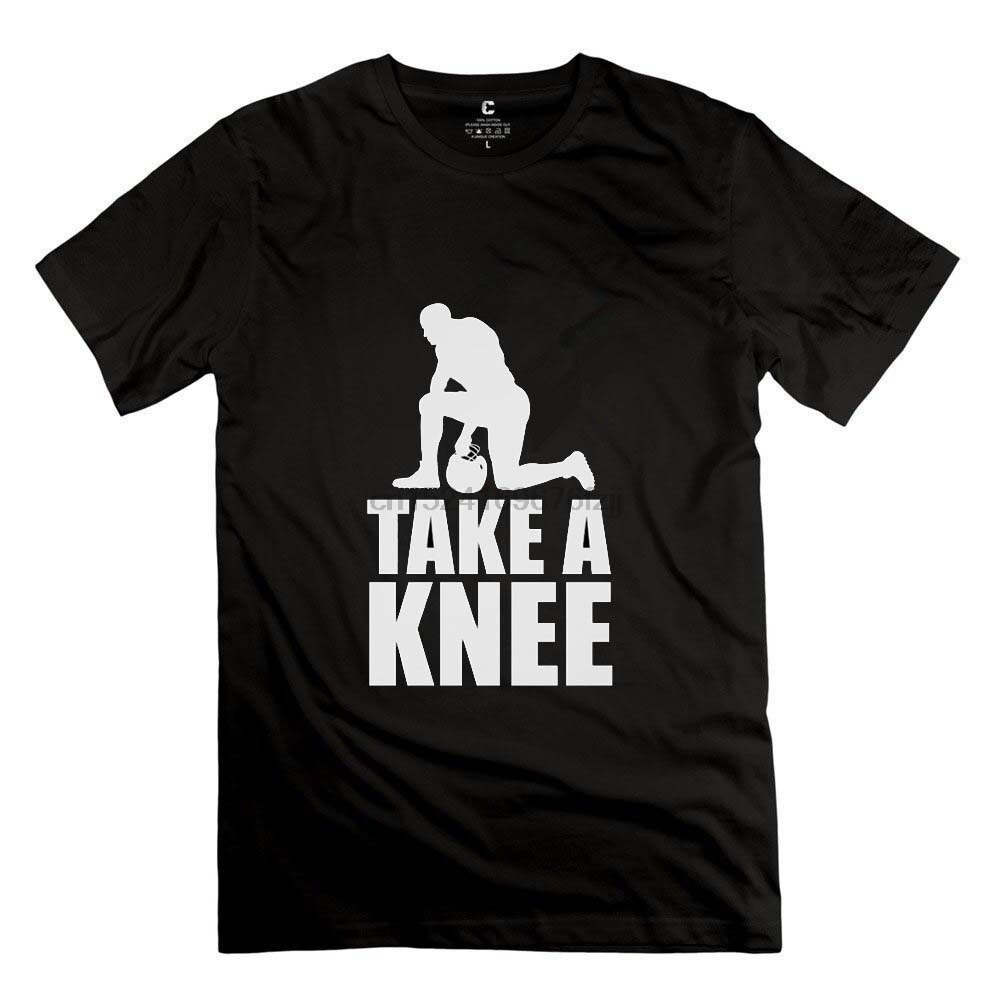 100% Cotton Fashion Basic Short Sleeve Colin Kaepernick T Shirts Im With Kap Take A Knee Protest Tee For Men