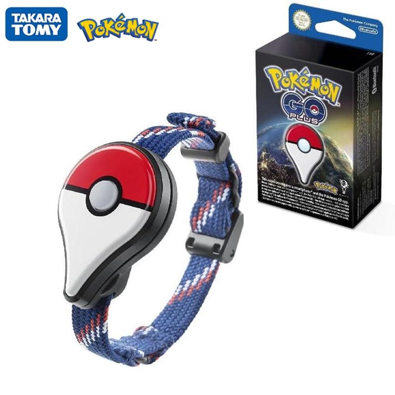 Pokemon GO Plus pulsera modelo juguetes Auto captura pulsera Bluetooth para Pokemon GO Plus batería recargable dentro puede cambiar