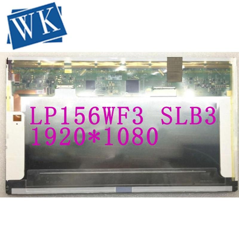 شحن مجاني! LP156WF3 SLB3 LP156WF3 SLB2 شاشة لاب توب LCD 1920*1080 LVDS 50 دبابيس