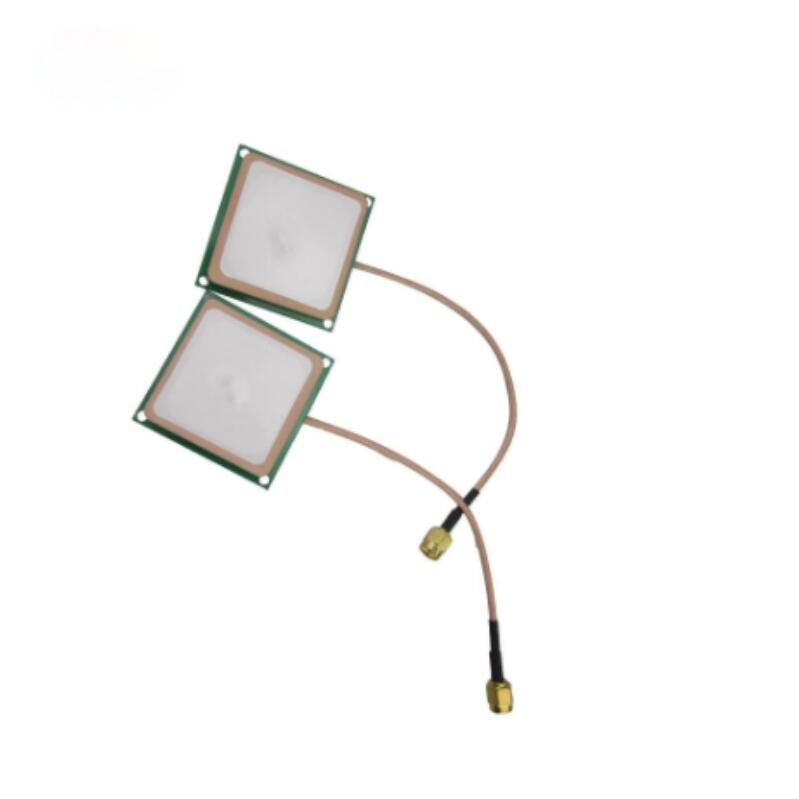 customized size Circular Polarization small uhf reader tag antenna embedded system ceramics rfid reader antenna 18*18mm/80mm