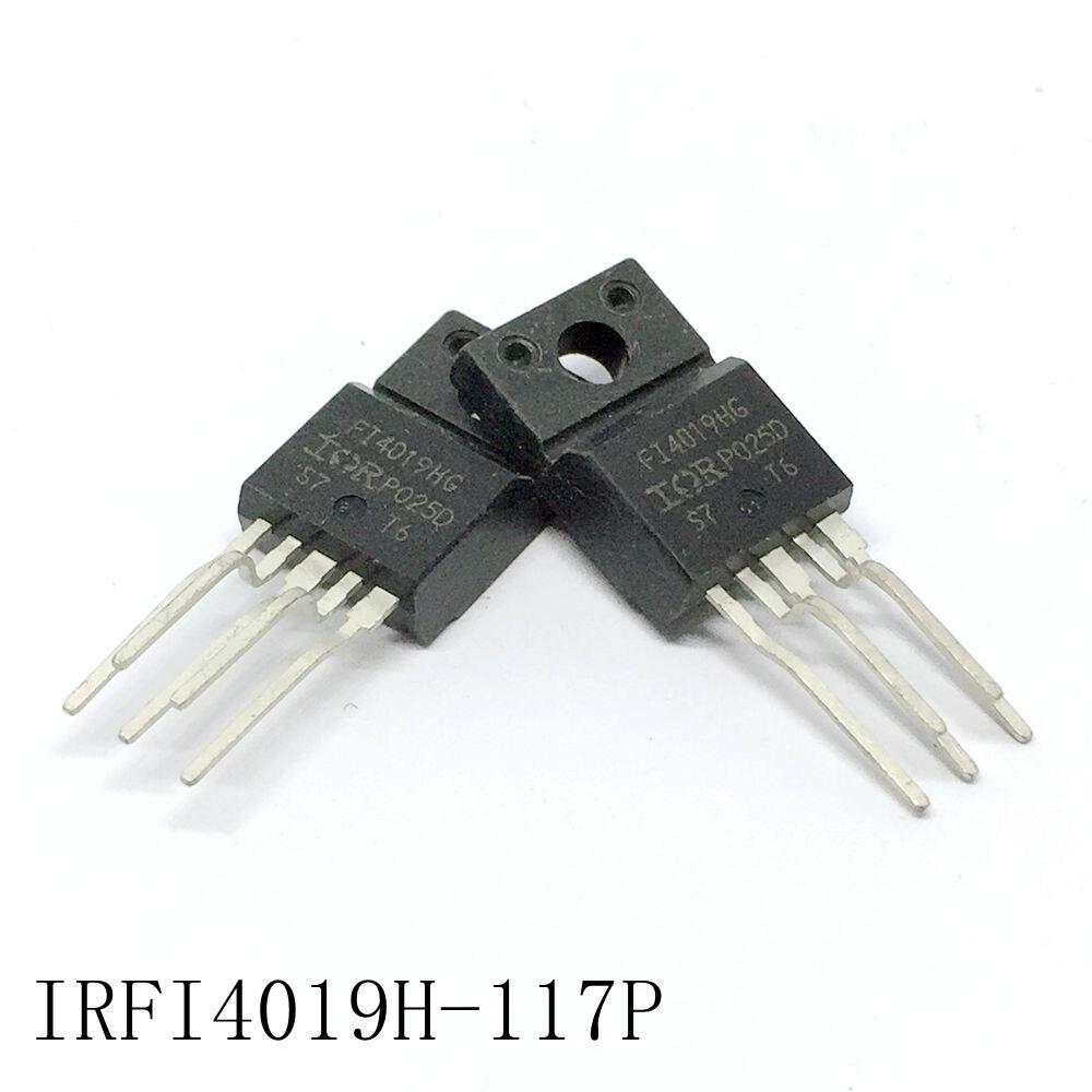 Digital audio campo efecto tubo IRFI4019H-117P TO-220F-5 8.7A/150V 5 unids/lote nuevo en...
