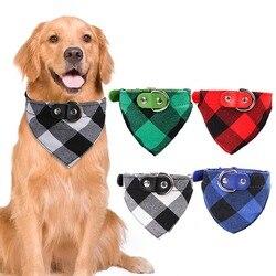 Cão Bandana Cachecol Collar Manta de Algodão Padrão de Cão Acessórios para Animais de Estimação Do Gato Do Cão Pequeno Bonito Laços Cachecol Bandanas Fontes Da Beleza