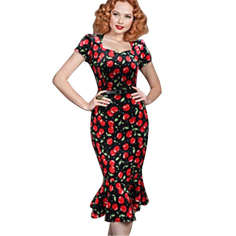 2020 nueva moda mujer verano Elegante ropa tipo túnica con cuello cuadrado para trabajar negocios Casual fiesta lápiz vaina vestidos de verano