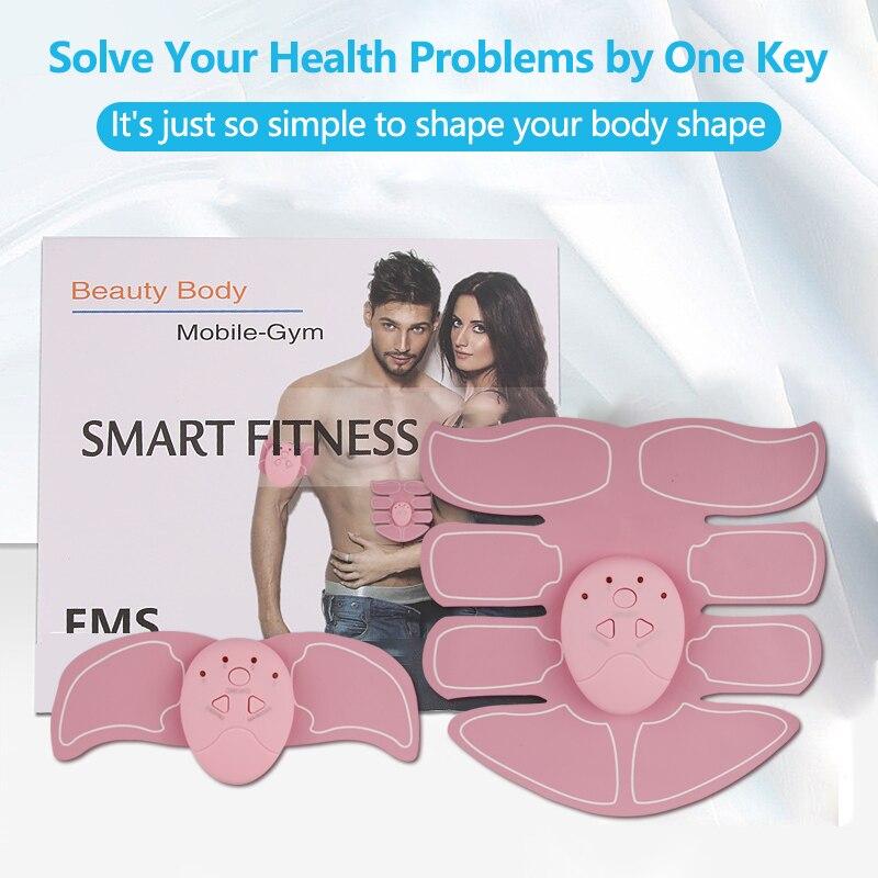 EMS ABS estimulador músculo masaje glúteos ejercitador de cadera entrenamiento Abdominal cuerpo Shaping gimnasio hogar ejercicio Fitness equipo tren