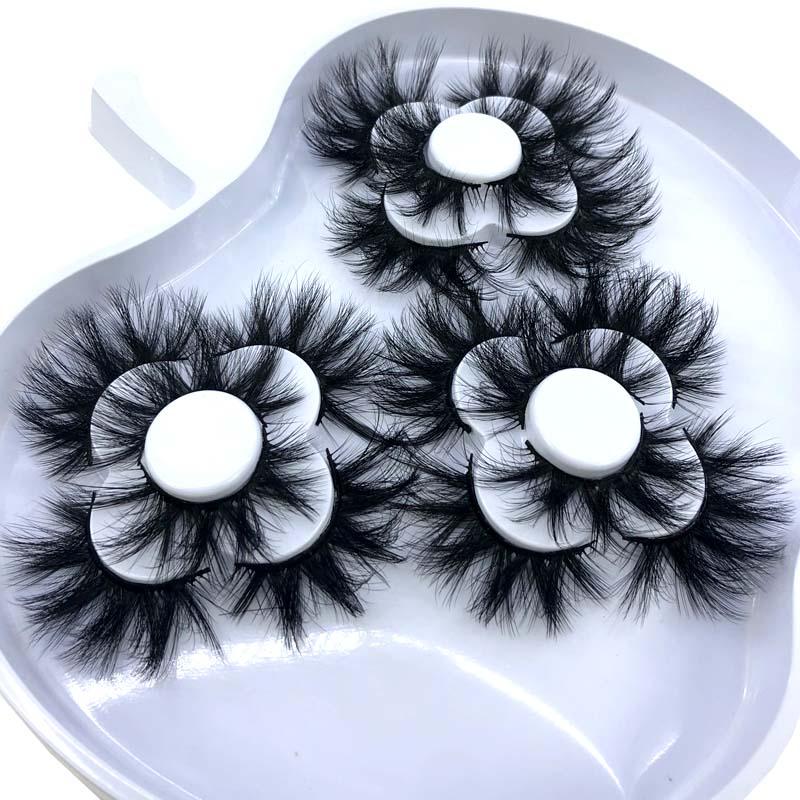 HBZGTLAD, 9 pares, 18-25mm, 3D, pestañas postizas de visón falso, pestañas postizas largas naturales, volumen, extensión de pestañas, maquillaje