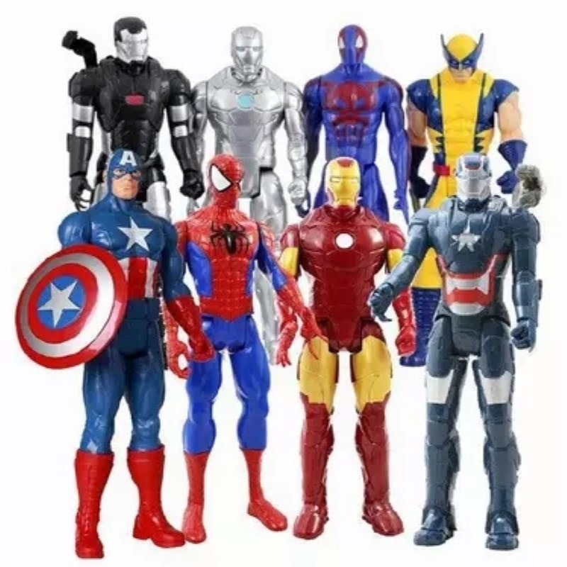 AliExpress - 2020 Marvel Amazing Ultimate SpiderMan Captain America Iron Man PVC Action Figure Collectible Model Toy for Kids Christmas gift