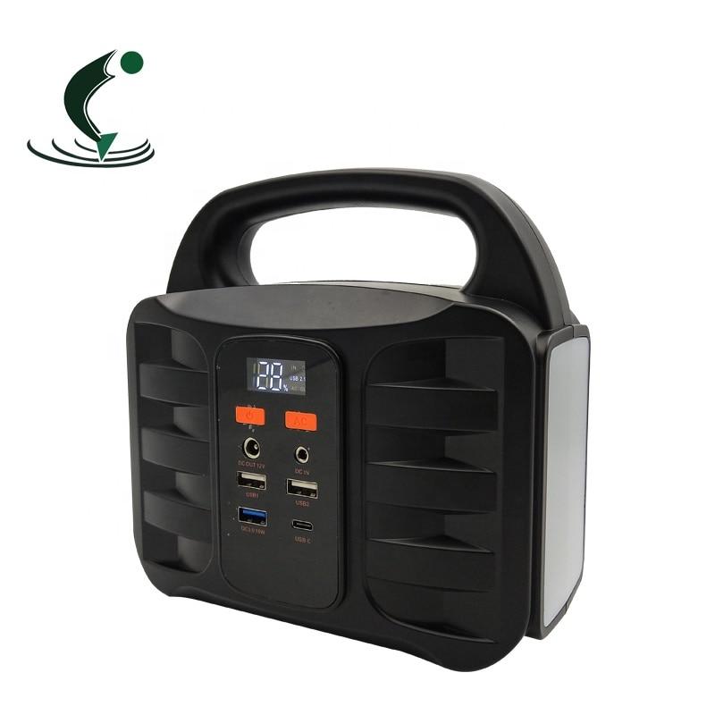 42000mAh portable solar power bank usb portable energy storage power supply enlarge