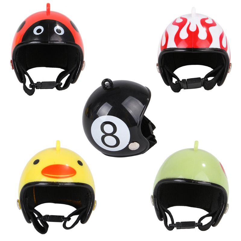 Casco de pollo patrón divertido pequeño mascota aves de corral cabeza protección sombrero de alta calidad y a estrenar