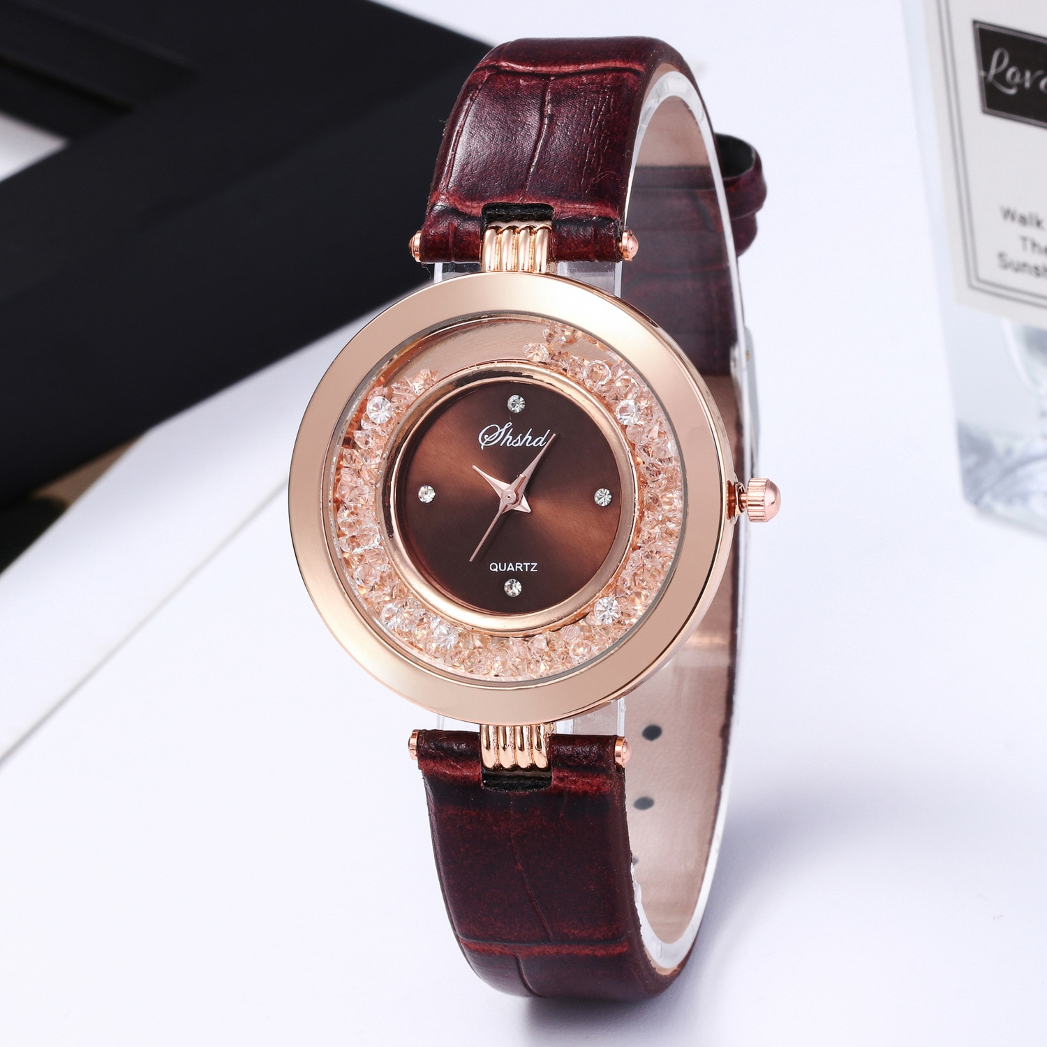 2020 NEW Watch Women Fashion Casual Leather Belt Watches Simple Ladies' Small Dial Quartz Clock Dres