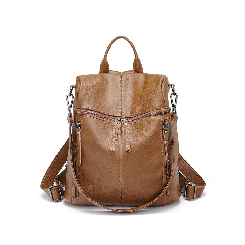 Mochilas de couro de alta qualidade moda moderna sacos de ombro para adolescentes meninos meninas escola namoro sacos de viagem