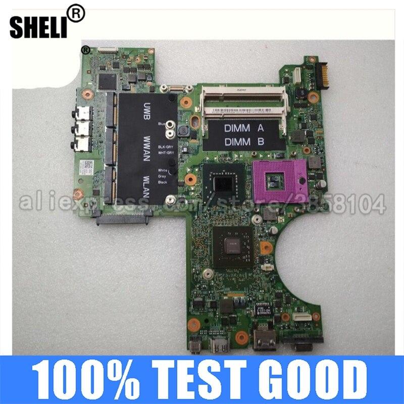 SHELI 128MB Nvidia F125F RU477 N029D F124F para Dell M1530 placa base...