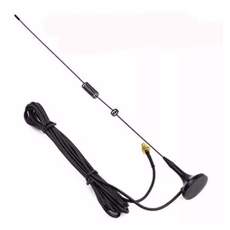NEW-UT-106UV Antena walkie talkie, SMA-F de diamante UT106 para HAM Radio BAOFENG UV-5R BF-888S antena larga de UV-82