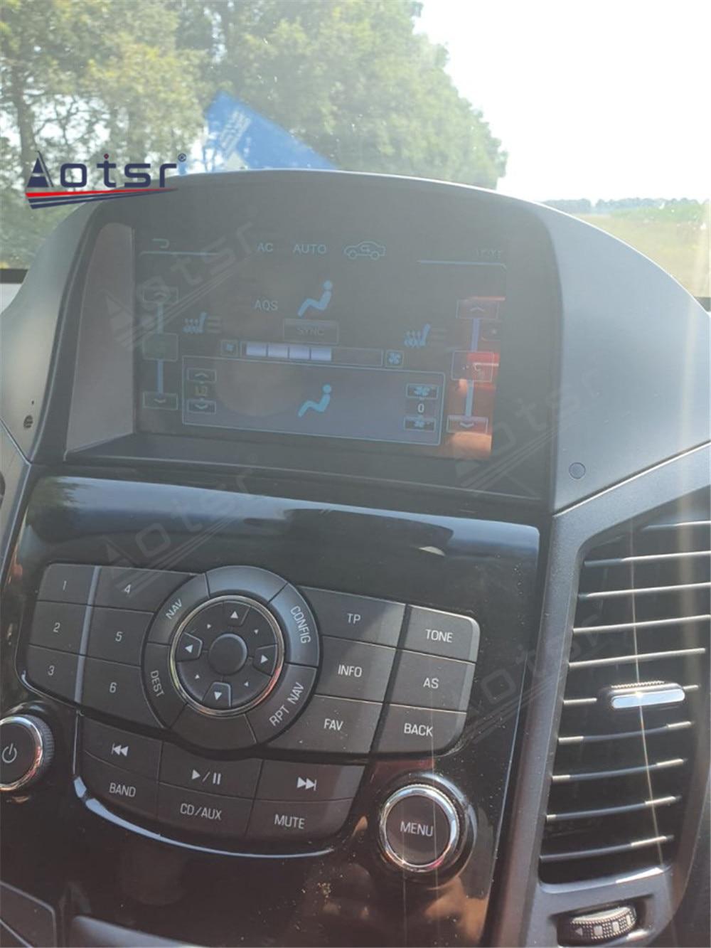 AOTSR سيارة مشغل وسائط متعددة أندرويد 10.0 لشروليه أورلاندو 2011 2012 2013 - 2015 لتحديد المواقع والملاحة راديو تلقائي DSP واي فاي ستيريو