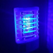 Mini lampe anti-moustiques 1 pièce   Mini veilleuse anti-moustique, capteur de prise, piège électronique répulsif, lampes anti-moustiques domestiques