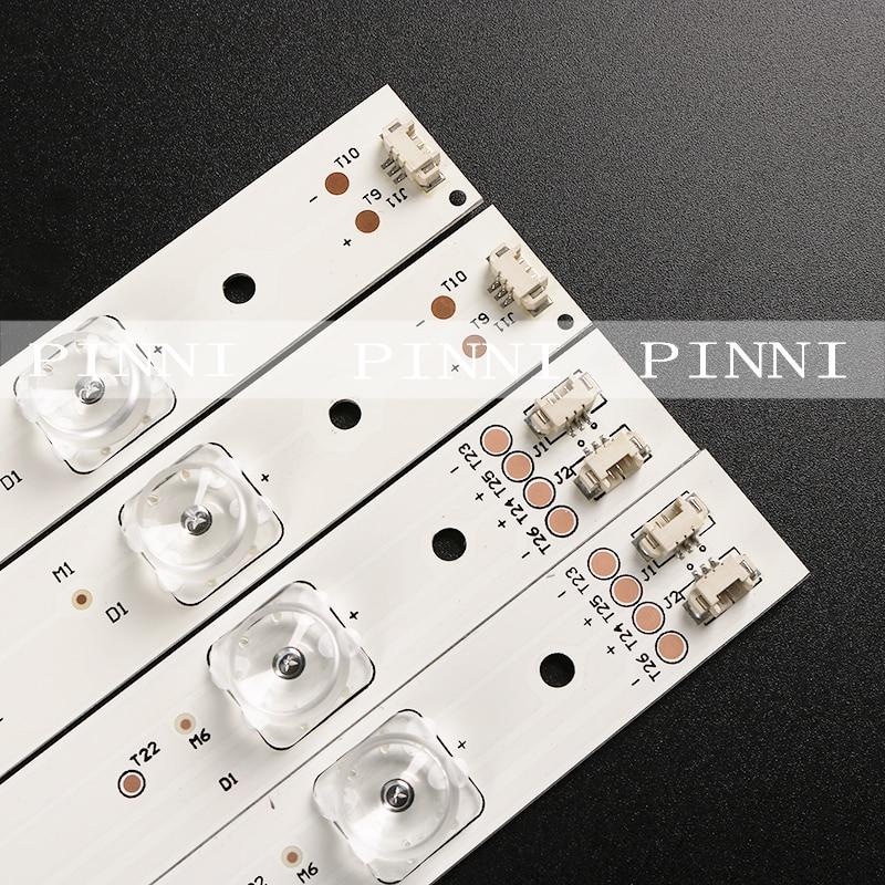 Новый и оригинальный для haier U55A5 U55H3 светильник, полоса led55d7-07, led55d7-08, один набор из 14 (12 7 светильник s + 2 8 светильник s) составляет 55,7 см lo