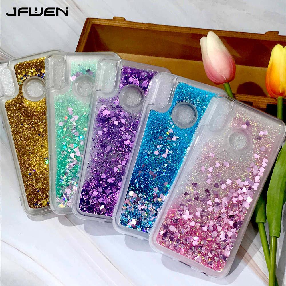 Liquid Glitter Case For Funda Xiaomi Redmi 7 7A 8 8A Case Silicone Phone Cases For Xiaomi Redmi 7A Note 7 8 Pro Case Cover