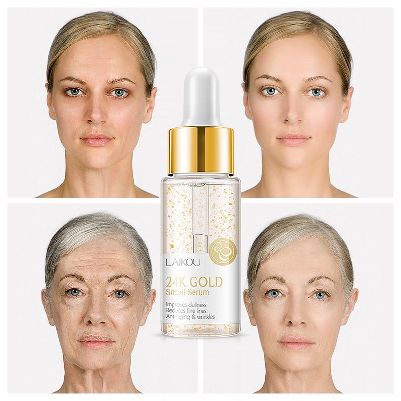 Snail Restore Serum Snail Essence And Cream Face Essence Anti Wrinkle Hyaluronic Acid Anti Aging Collagen Whitening Cream TSLM1