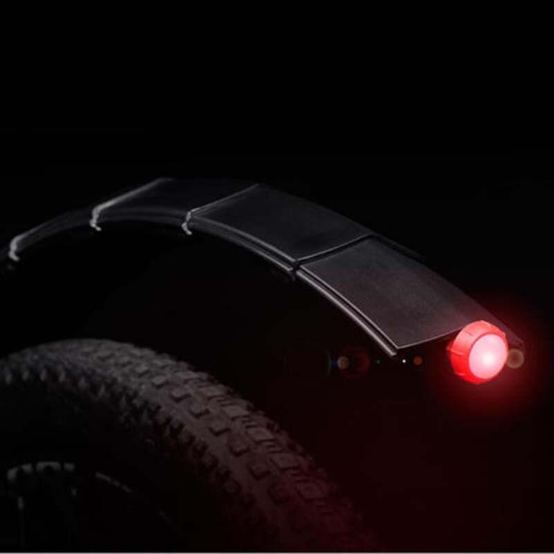 26 zoll Radfahren MTB Fahrrad Kotflügel Vorne Kotflügel Hinten Mit Rücklicht Schlamm Schutz Set für MTB Rennrad Flügel