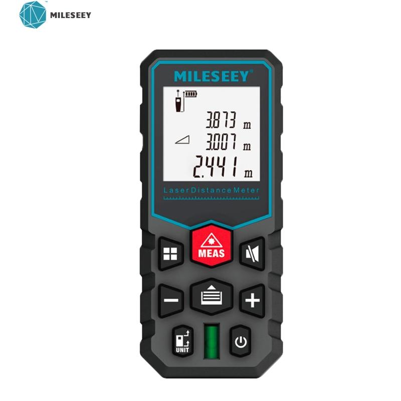 Mileseey-telémetro láser Digital X5/S2, medidor de distancia, Medidor láser, ruleta, cinta, medidor...