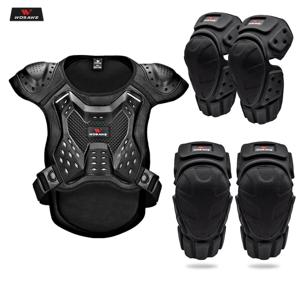 WOSAWE Motorcycle Jacket Full Body Armor Back Chest Protector Motocross Racing Clothing Riding Protective Gear Moto Protection wosawe motorcycle jacket full body armor back chest protector motocross racing clothing riding protective gear moto protection
