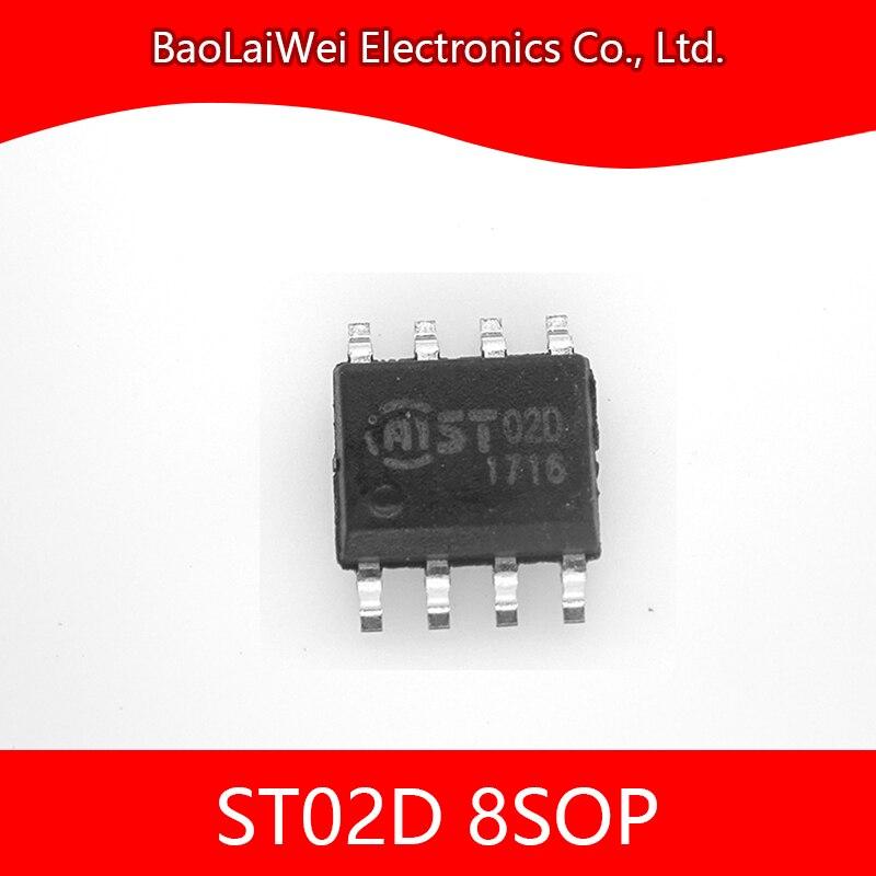 500 قطعة ST02D 8SOP رقاقة مكونات إلكترونية الدوائر المتكاملة 2 قناة بالسعة اللمس الاستشعار مع وظيفة المعايرة الذاتية