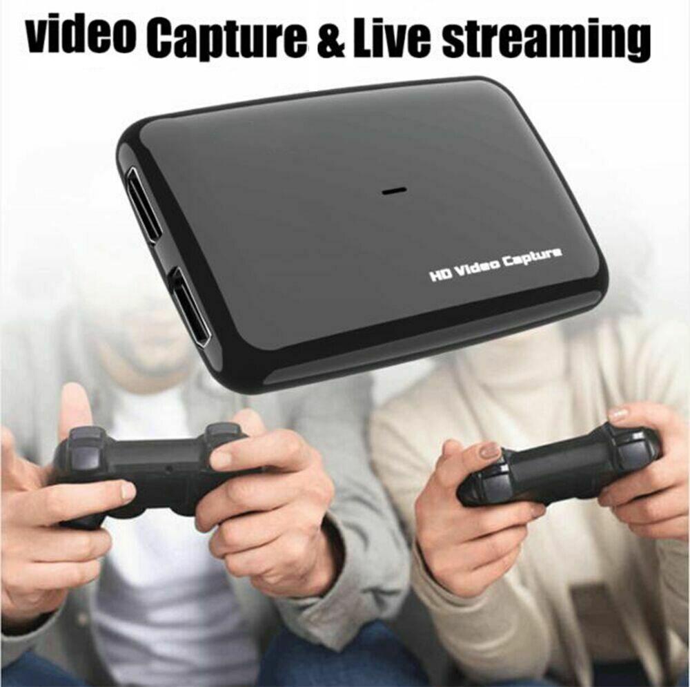 Tarjeta de captura de vídeo HDMI 4K, caja de juegos USB 3,0, caja de grabación de TV, puede micrófono en mezcla de comentarios de Audio 1080P 60fps transmisión en vivo