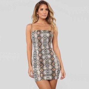 Wholesale 2019 New woman's dress fashion Spaghetti Strap Mini sexy celebrity cocktail party bandage dress