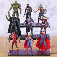 Hiya jouets DC Injustice 2 Batman Superman merveille femme Joker Harley Quinn Flash Supergirl rouge capuche marais chose Action figurine jouet