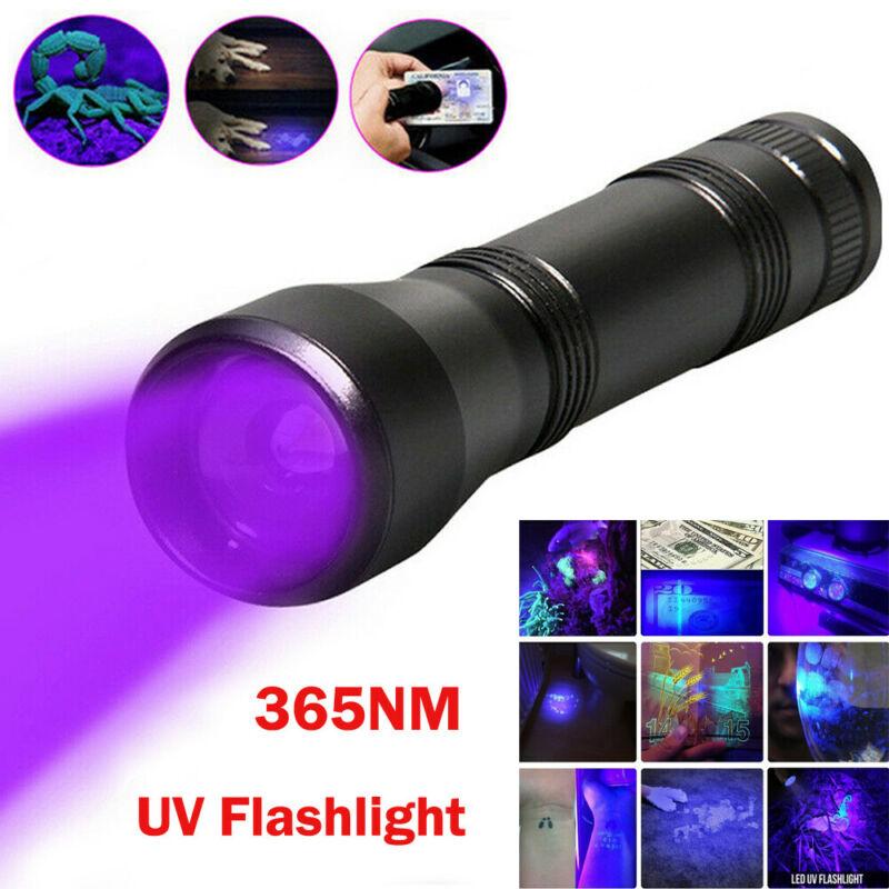 UV LED Scorpion Detector Hunter Finder Ultra Violet Blacklight Flashlight 395nm